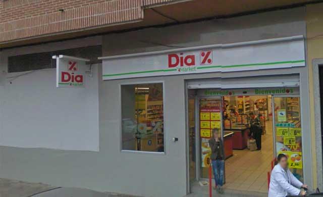 Atracan un supermercado de Talavera a punta de pistola