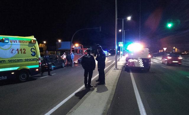 Un hombre atropellado en el Puente del Príncipe Felipe de Talavera