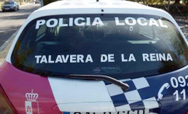La Policía Local de Talavera ayuda aun hombre con principio de infarto