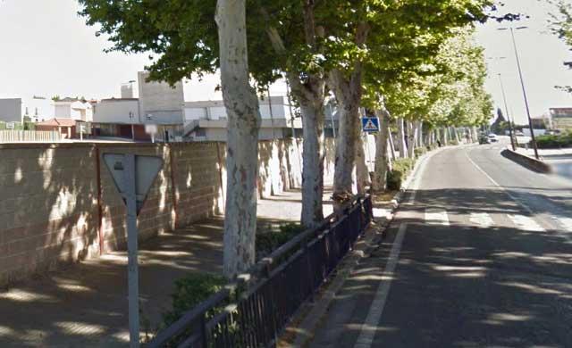 """C's pide la adecuación de la calle Capitán Cortés, en la """"zona de los colegios"""""""