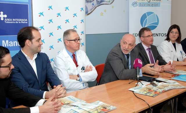 El Hospital de Talavera fomenta la educación para la salud infantil