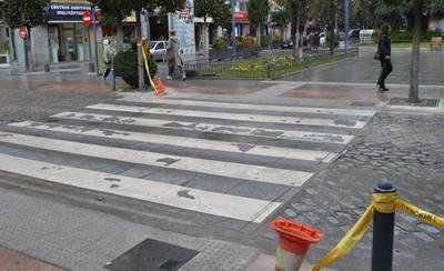 El paso de peatones de la calle Prado estará regulado por un semáforo