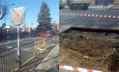 Quejas por la mala ejecución de las obras de Puerta de Cuartos