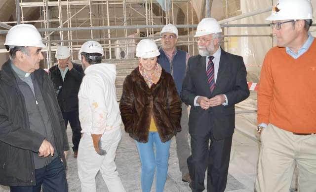 Ramos visita los trabajos arqueológicos de San Prudencio en Talavera