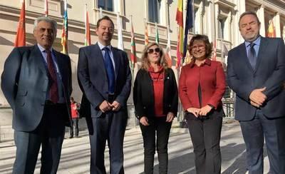 Los senadores del PP de la provincia de Toledo se reúnen con FEPEMTA