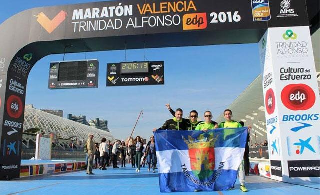 Éxito de los deportistas del Talavera Training en Valencia, Toledo y Talavera