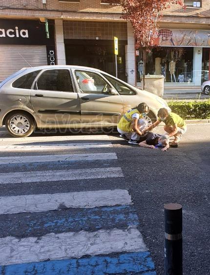 TALAVERA | Una mujer herida tras ser atropellada en un paso de peatones en Francisco Aguirre