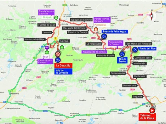Talavera se prepara para la Vuelta Ciclista a España