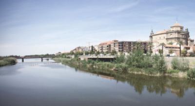 La alcaldesa quiere cambiar la imagen del Tajo en Talavera