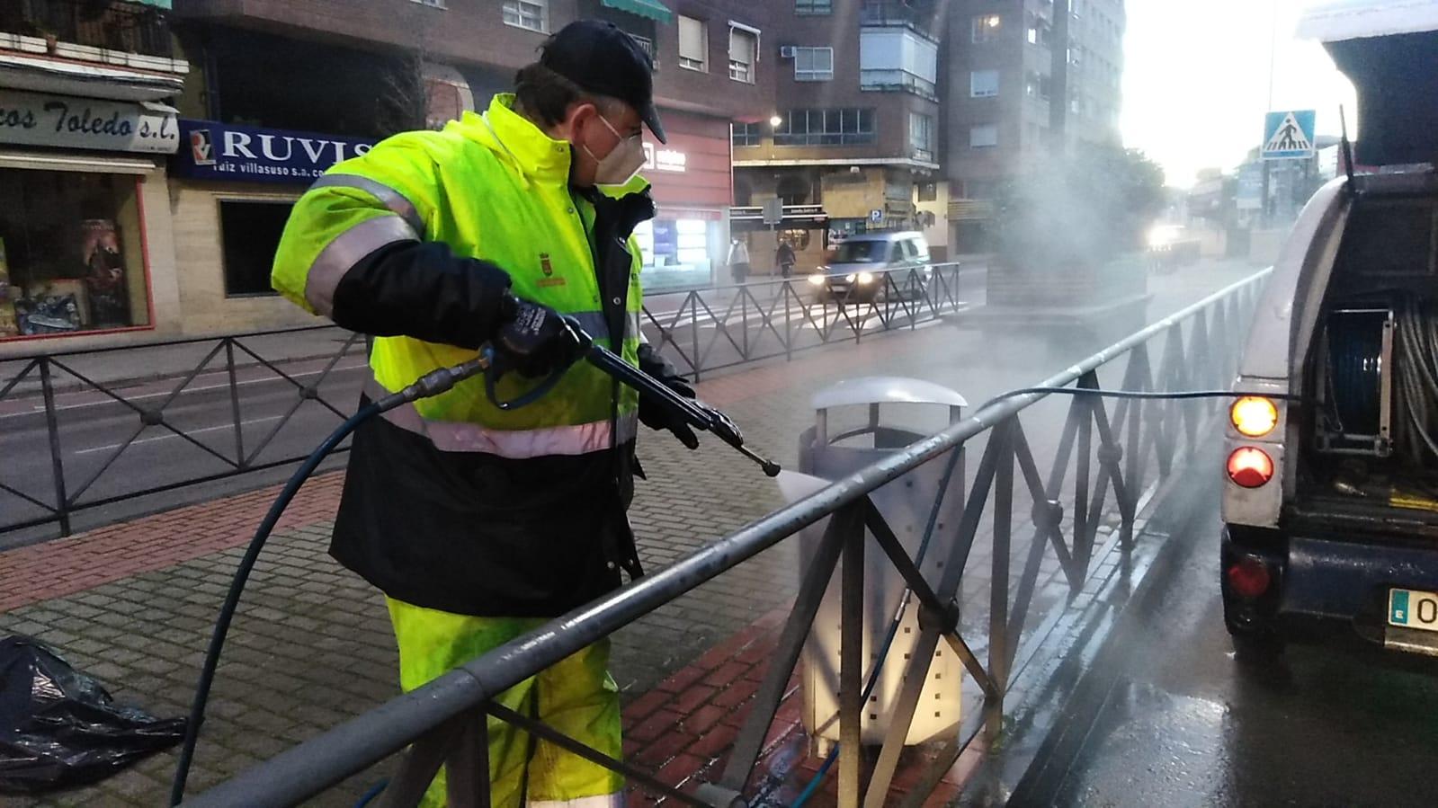 """Nueva campaña de limpieza intensiva """"calle a calle"""""""
