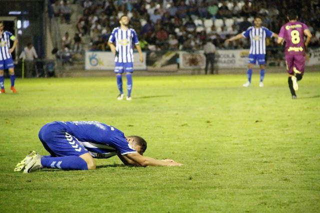 El Cartagena despertó del sueño copero al CF Talavera