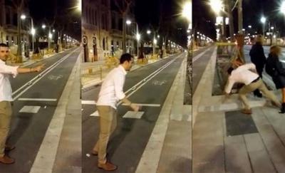 El joven talaverano que agredió a una mujer en Barcelona paga una indemnización de 60.000 euros