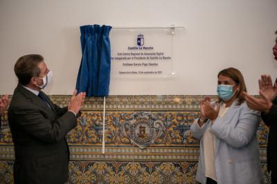 Medio centenar de personas trabajan ya en el recién inaugurado CRID situado en Talavera