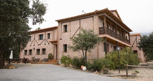 Imagen de la casa rural El Tejarejo donde se ha producido el suceso