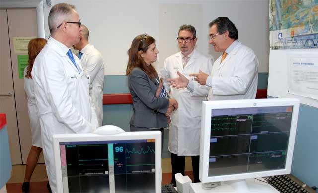 SESCAM instala un nuevo sistema de telemetría en el Hospital de Talavera