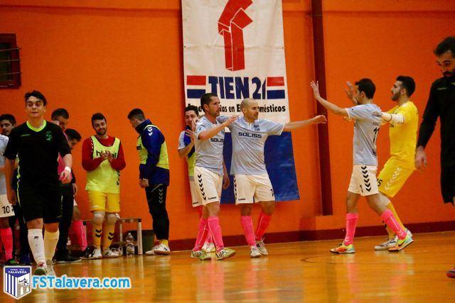 El Soliss FS Talavera se repone a una mala primera parte para vencer al Mejorada FS