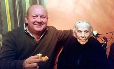 La 'Tía Concha' de Valdeverdeja cumple 104 años