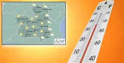 Subida de temperaturas este martes en la provincia de Toledo