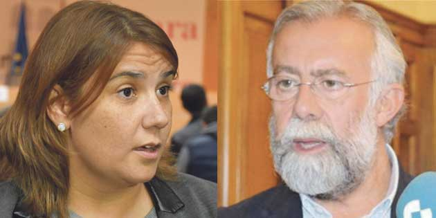 Tita García y Jaime Ramos