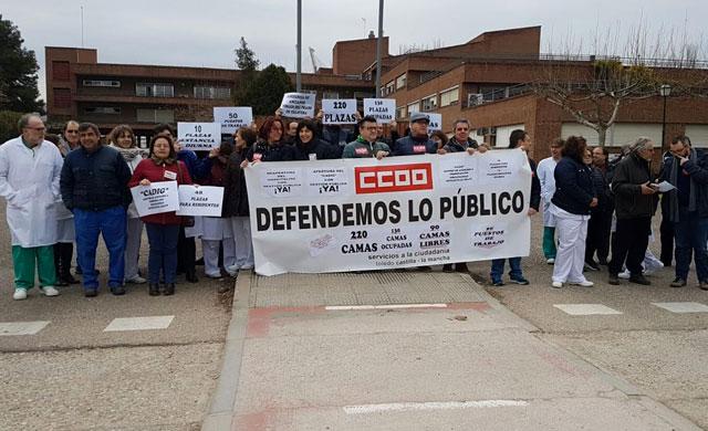 Los trabajadores exigen la apertura del CADIG 'Las Moreras' en Talavera