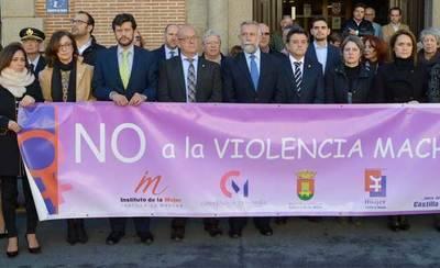 Talavera reúne a todas las instituciones en el minuto de silencio