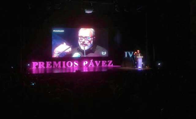 Estos son los ganadores de los IV Premios Pávez (IMAGENES)