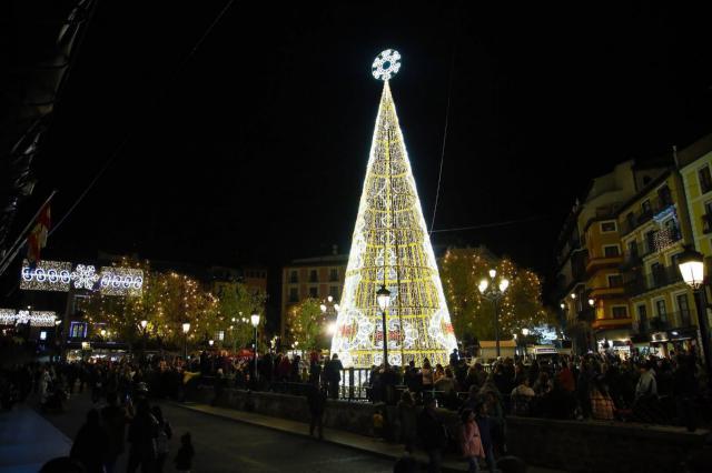 Más de un millón de luces led para que Toledo brille en Navidad