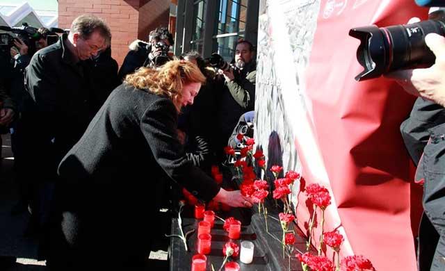 La ciudad de Toledo homenajea a las víctimas del 11M