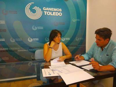 Ganemos Talavera y Ganemos Toledo se unen para denunciar la situación del Tajo