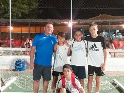 Segurilla, campeón en el Torneo de Fútbol Sala 3x3 de Montesclaros