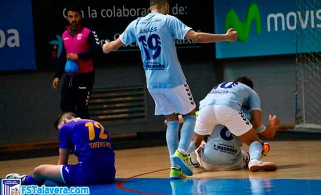 El Soliss FS Talavera vence al Torrejón Sala en un partido como los de antaño
