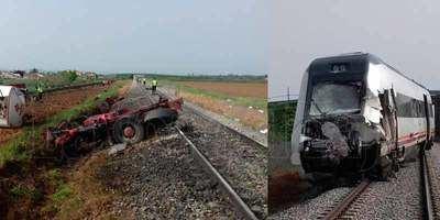 Nuevas imágenes del accidente mortal en un paso a nivel en Alberche