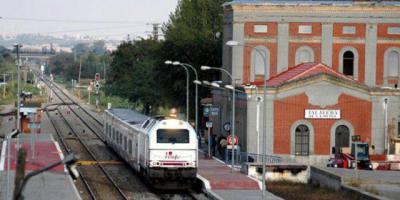 Estación del ferrocarril de Talavera. Imagen de archivo
