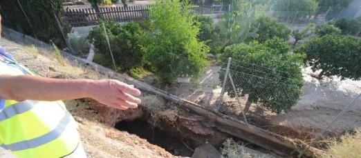 Una nueva rotura de una tubería del Trasvase Tajo-Segura deja perder más de 1.500 m3