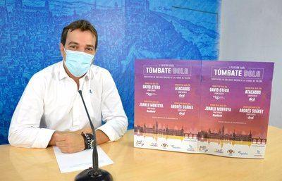 Toledo presenta 'Túmbate bolo' un nuevo programa de conciertos gratuitos