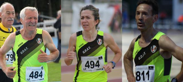 Tres atletas de la UDAT compiten en el Mundial Master de Atletismo