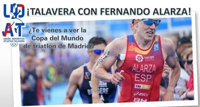 Viaja a Madrid para animar a Fernando Alarza por un precio inmejorable