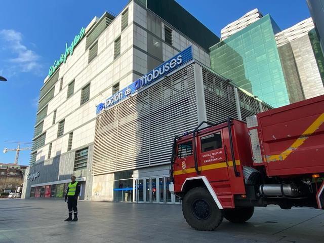 CORONAVIRUS | La UME ya está en Talavera para garantizar la seguridad (fotos)