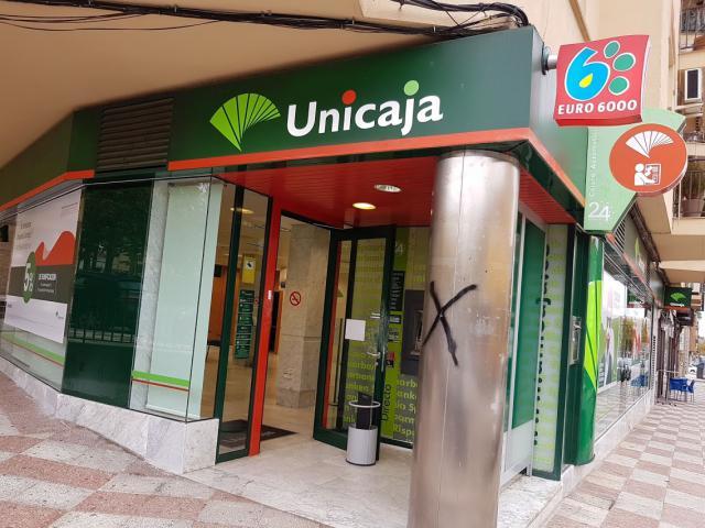 Detenidos el atracador de una sucursal bancaria y su cómplice