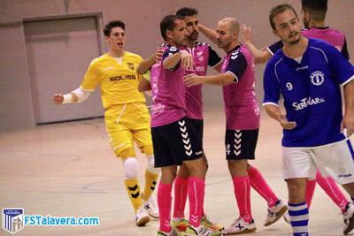 El Soliss FS Talavera alcanza su séptima victoria consecutiva en Madrid
