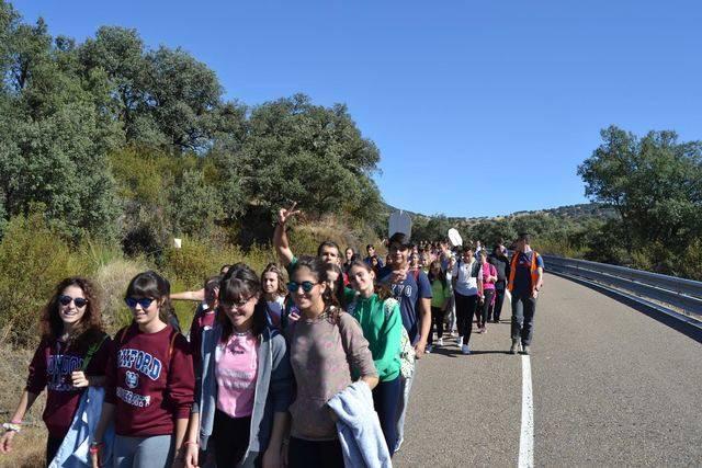 Cerca de 600 jóvenes de Talavera y resto de la diócesis de Toledo participan en la peregrinación anual a Guadalupe