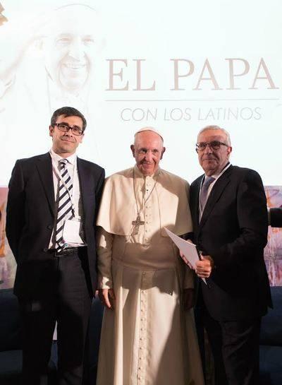 El Papa Francisco reconoce la labor de la Fundación Soliss