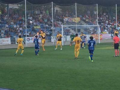 Primer triunfo liguero del CF Talavera en esta temporada
