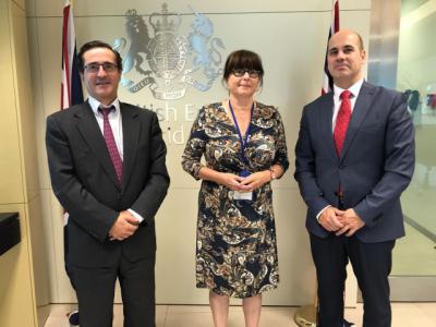 Castilla-La Mancha estrecha lazos comerciales con Reino Unido