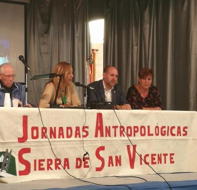Inauguradas las 'X Jornadas Antropológicas de la Sierra de San Vicente'