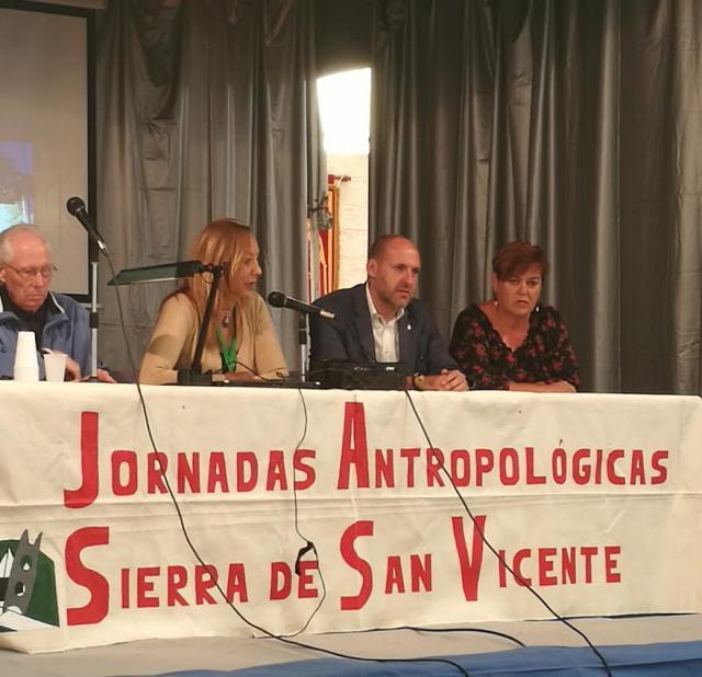 Inauguradaslas 'X Jornadas Antropológicas de la Sierra de San Vicente'