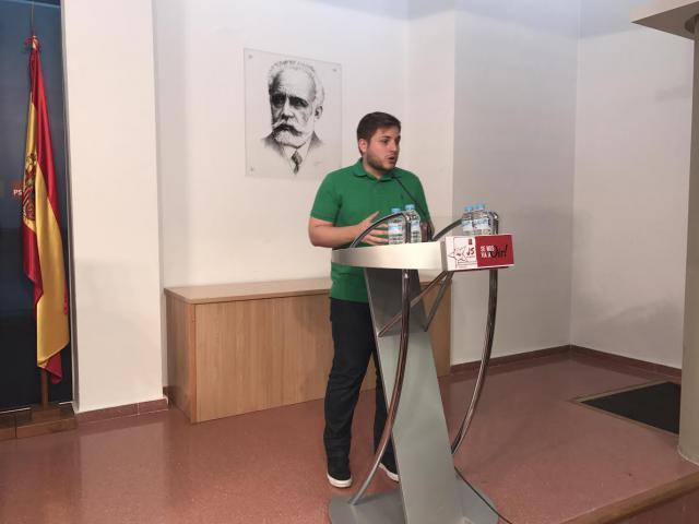Nacho Hernando se presentará a la reelección como secretario de Juventudes Socialistas en la región