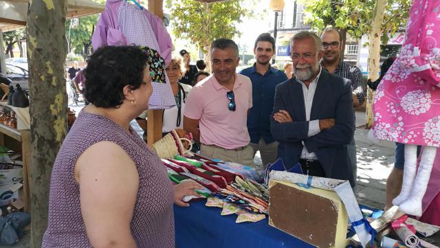 Inaugurado el tradicional Mercado de Artesanía de la Feria de San Mateo