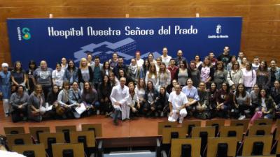 80 alumnos de la UCLM y del IES Ribera del Tajo realizan sus prácticas en el Hospital de Talavera