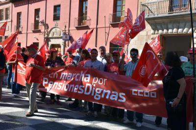 Las marchas #PensionesDignas llegan a Talavera